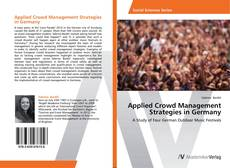 Couverture de Applied Crowd Management Strategies in Germany