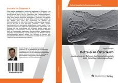 Bookcover of Bettelei in Österreich