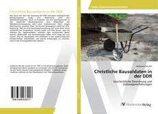 Borítókép a  Christliche Bausoldaten in der DDR - hoz