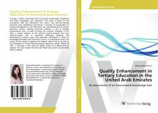 Bookcover of Quality Enhancement in Tertiary Education in the United Arab Emirates