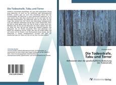 Bookcover of Die Todesstrafe,  Tabu und Terror