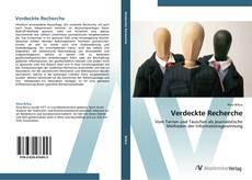 Bookcover of Verdeckte Recherche