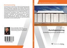 Kunstsponsoring kitap kapağı