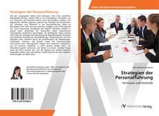 Strategien der Personalführung kitap kapağı