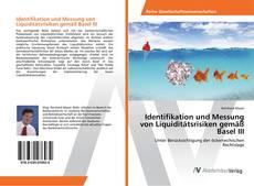 Portada del libro de Identifikation und Messung von Liquiditätsrisiken gemäß Basel III