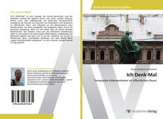 Bookcover of Ich Denk-Mal