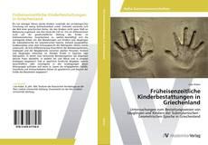 Bookcover of Früheisenzeitliche Kinderbestattungen in Griechenland