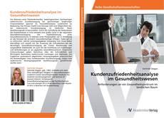 Bookcover of Kundenzufriedenheitsanalyse im Gesundheitswesen