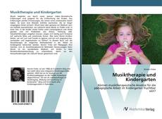 Обложка Musiktherapie und Kindergarten