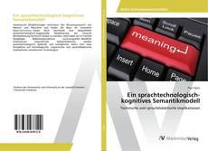 Обложка Ein sprachtechnologisch-kognitives Semantikmodell