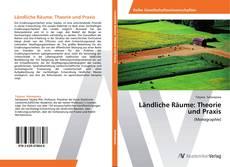 Couverture de Ländliche Räume: Theorie und Praxis