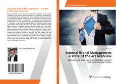 Buchcover von Internal Brand Management - a state of the art overview