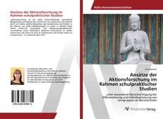 Обложка Ansätze der Aktionsforschung im Rahmen schulpraktischer Studien