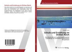 Bookcover of Schule und Erziehung im Dritten Reich