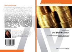 Bookcover of Der Stabilitätsrat