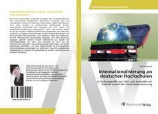 Capa do livro de Internationalisierung an deutschen Hochschulen