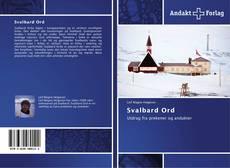 Обложка Svalbard Ord