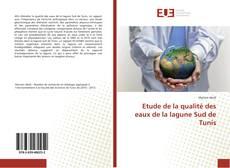 Capa do livro de Etude de la qualité des eaux de la lagune Sud de Tunis