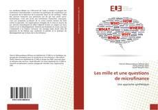 Обложка Les mille et une questions de microfinance