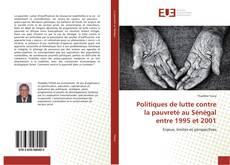 Politiques de lutte contre la pauvreté au Sénégal entre 1995 et 2001 kitap kapağı