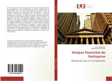 Analyse financière de l'entreprise kitap kapağı