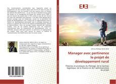 Buchcover von Manager avec pertinence le projet de développement rural