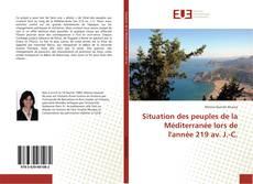 Buchcover von Situation des peuples de la Méditerranée lors de l'année 219 av. J.-C.