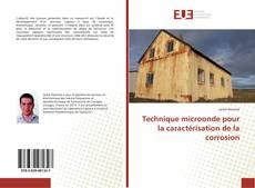 Copertina di Technique microonde pour la caractérisation de la corrosion
