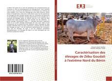 Bookcover of Caractérisation des élevages de Zébu Goudali à l'extrême Nord du Bénin