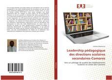 Couverture de Leadership pédagogique des directions scolaires secondaires-Comores