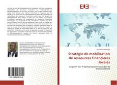 Couverture de Stratégie de mobilisation de ressources financières locales