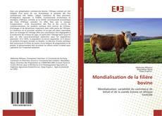 Portada del libro de Mondialisation de la filière bovine