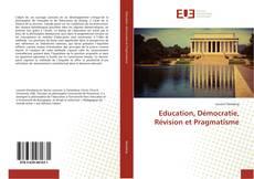 Обложка Education, Démocratie, Révision et Pragmatisme