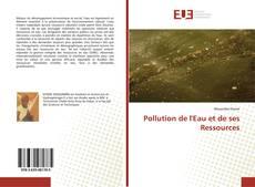 Couverture de Pollution de l'Eau et de ses Ressources