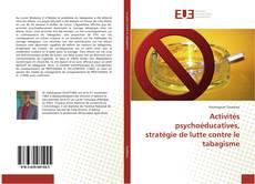 Bookcover of Activités psychoéducatives, stratégie de lutte contre le tabagisme