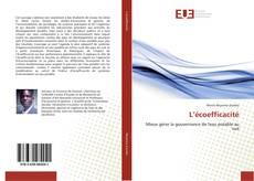 Bookcover of L'écoefficacité
