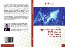 Couverture de Application des normes IPSAS dans les établissements universitaires
