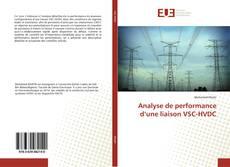 Capa do livro de Analyse de performance d'une liaison VSC-HVDC