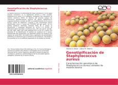 Portada del libro de Genotipificación de Staphylococcus aureus