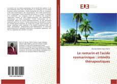 Portada del libro de Le romarin et l'acide rosmarinique : intérêts thérapeutiques