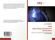 Bookcover of ADN génomique,extraction et purification
