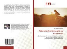 Bookcover of Redunca de montagne au Cameroun
