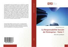 Capa do livro de La Responsabilité Sociale de l'Entreprise - Tome 1