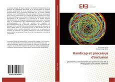 Buchcover von Handicap et processus d'inclusion