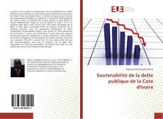 Buchcover von Soutenabilité de la dette publique de la Cote d'Ivoire