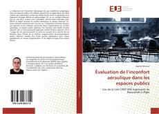 Capa do livro de Évaluation de l'inconfort aéraulique dans les espaces publics