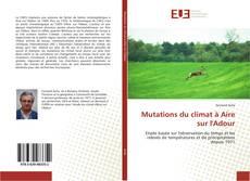 Bookcover of Mutations du climat à Aire sur l'Adour