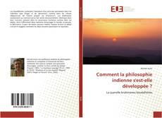 Buchcover von Comment la philosophie indienne s'est-elle développée ?