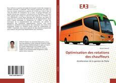 Bookcover of Optimisation des rotations des chauffeurs