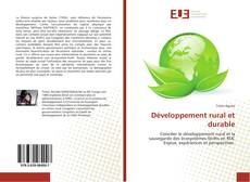 Bookcover of Développement rural et durable